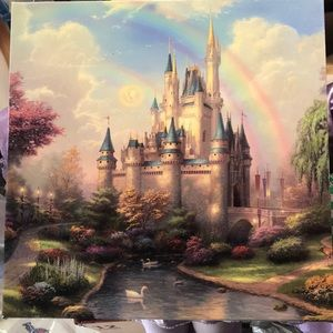 SOLD Original Thomas Kinkade Painting